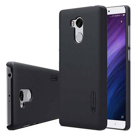 Чехол накладка Nillkin для Xiaomi Redmi 4 Pro Matte ser. + Пленка Черный (133891), фото 2