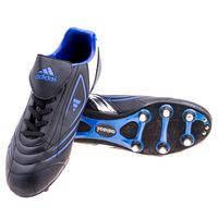 Бутсы Adidas 250-1/41, черно/синий.