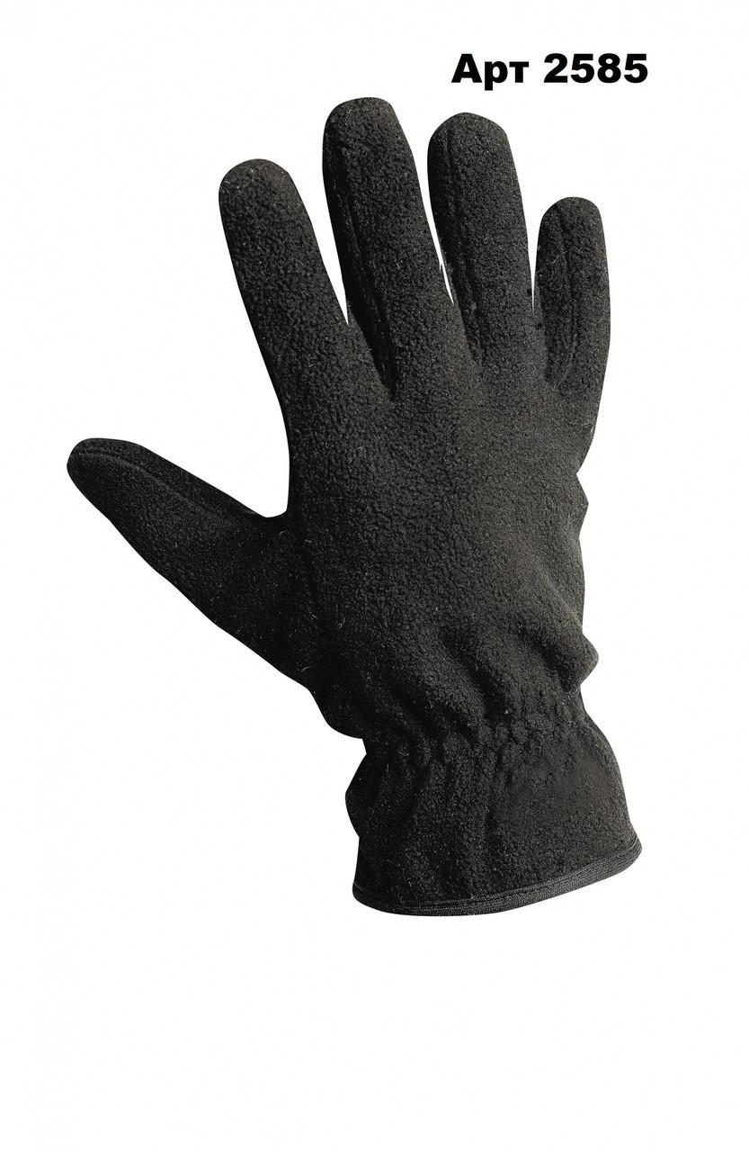 Перчатки флисовые черные  Reis пара