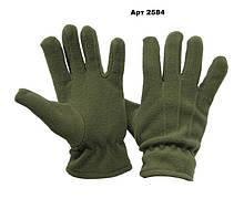 Флісові рукавички хакі Reis пара