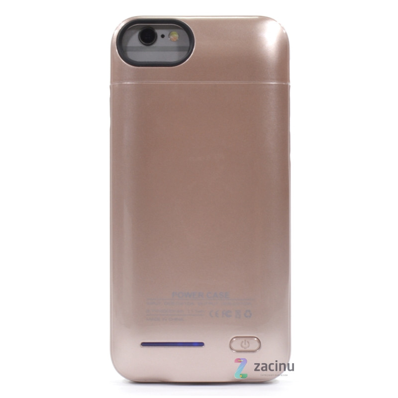Чохол-накладка Power Bank D705 для iPhone 7/6/6S 3000 мАг Smart Battery ser. Rose Gold