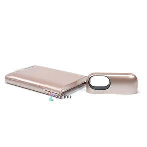 Чохол-накладка Power Bank D705 для iPhone 7/6/6S 3000 мАг Smart Battery ser. Rose Gold, фото 2