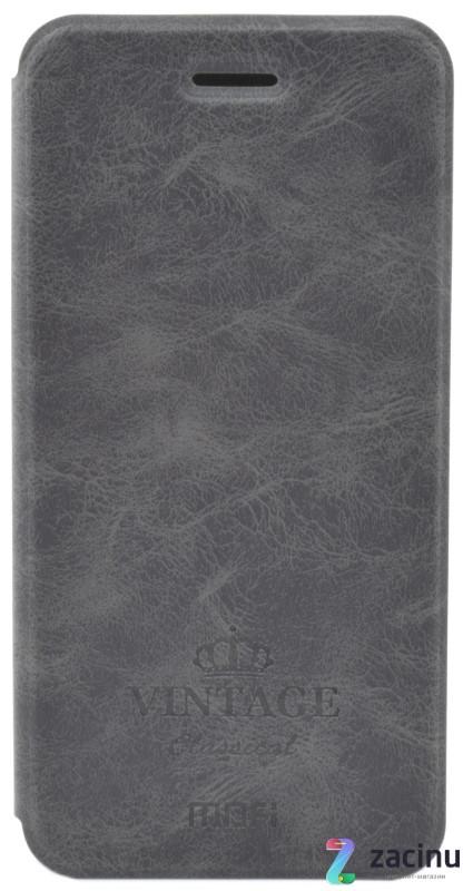 Чохол-книжка MOFI для Huawei P8 Lite (2017) Vintage ser. Чорний