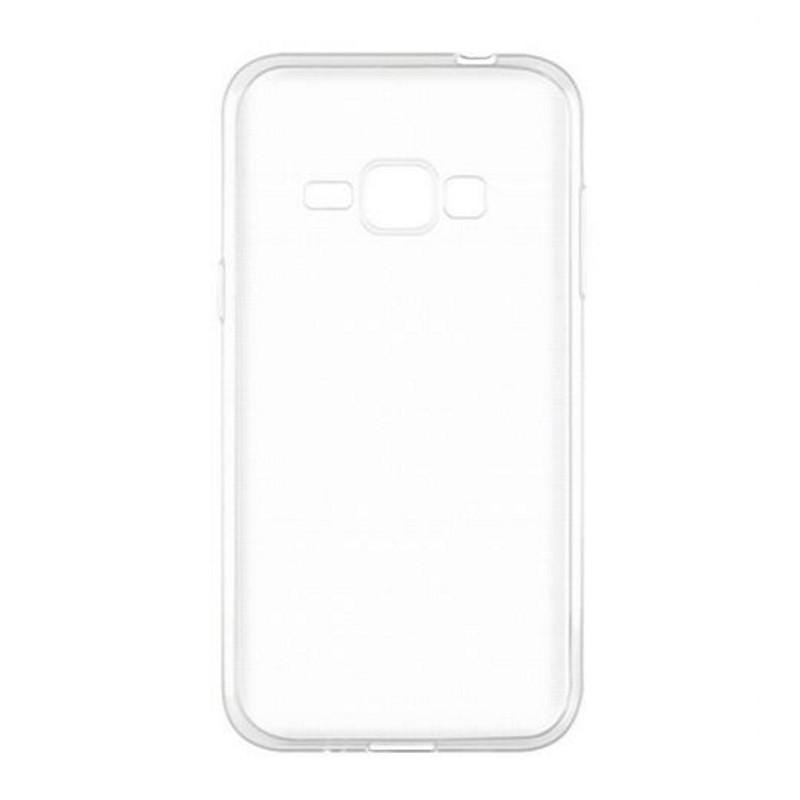 Чехол накладка TPU для Samsung J120H J1 (2016) / Ultra thin ser. Прозрачный / бесцветный