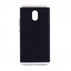 Чехол накладка iPaky для Meizu M5 Note TPU + PC Черный / серебристый (335026), фото 3