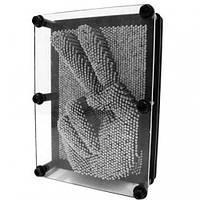 Экспресс - скульптор Pin-Art 3D 20x15 см в наличии пластик и железо, фото 1