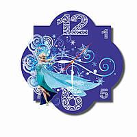 Настенные часы - Холодное сердце / настінний годинник - Крижане серце / Frozen wall clock
