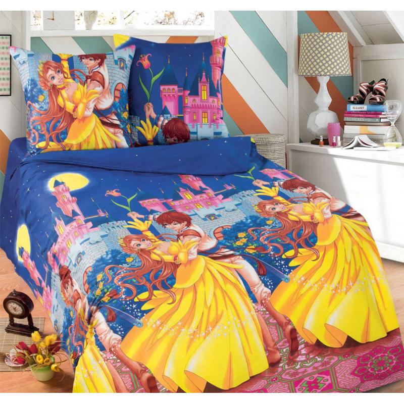 Постельное белье Мир чудес бязь ТМ Царский дом в кроватку
