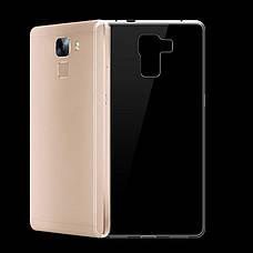 Чохол-накладка TPU для Huawei Honor 7 Ultra-thin ser. Прозорий/безколірний, фото 3