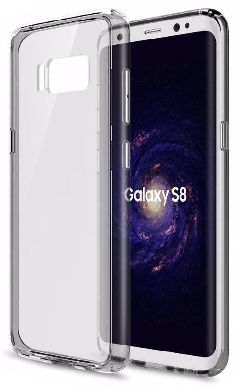 Чехол накладка Rock RPC1225 для Samsung G950 S8 Pure ser.TPU + PC Прозрачный / черный