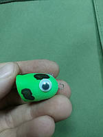 """Приманка """"Поплавок Поппер 3D Eye"""" 1.5гр 2,5см зеленая(9993623), фото 1"""