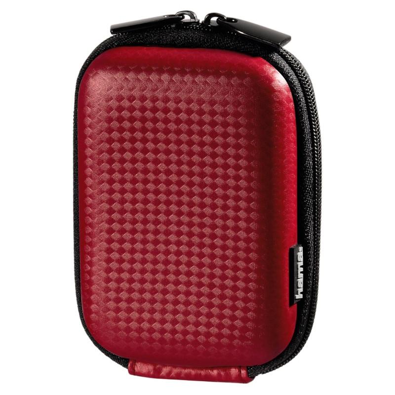 Чохол-футляр Hama для Фотоапарата (60x25x95мм) Carbon Style ser. Червоний