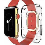 Чехол-накладка Fashion для Apple iWatch 38mm TPU Прозрачный