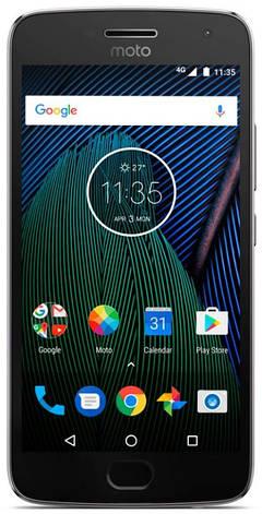 Смартфон MOTOROLA Moto G5 Plus (XT1685) Dual Sim (Сірий), фото 2