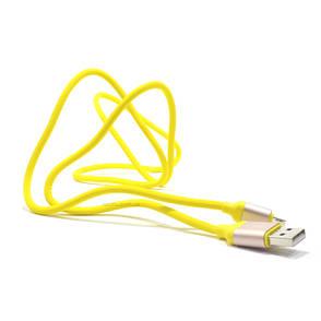 Кабель iMax microUSB 3.0 Yellow (330328), фото 2