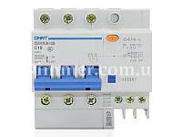 Диф. автомат CHINT DZ47LE-32 3P+N C10 30mA тип AC х-ка С 6kA