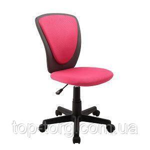 Дитяче комп'ютерне крісло BIANCA, Pink-dark grey, сірий з рожевим