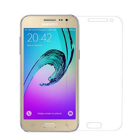 Защитное стекло U-Glass для Samsung J200H J2 Duos 0.33mm (H +) Прозрачное, фото 2