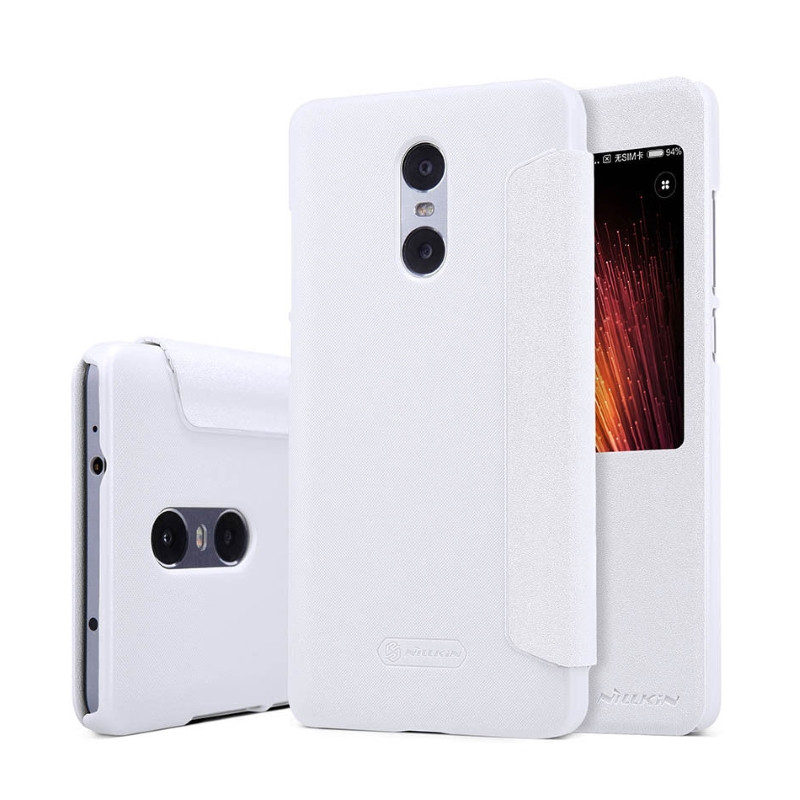 Чохол-книжка Nillkin для Xiaomi Redmi Pro Sparkle ser. White(127104)