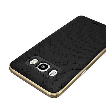 Чохол-накладка iPaky для Samsung J510F J5(2016) TPU+PC Чорний/золотистий(323856), фото 2