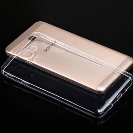 Чохол-накладка TPU для Samsung G610F J7 Prime(2016) Ultra-thin ser. Прозорий/безколірний, фото 2