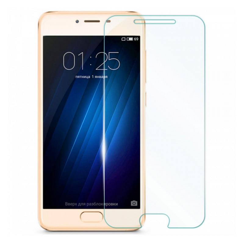 Захисне Скло U-Glass для Meizu U10 0.33mm (H+) Прозоре