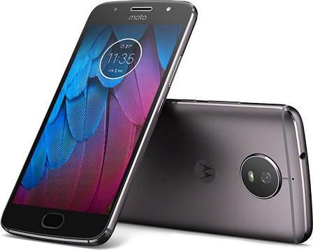 Смартфон MOTOROLA Moto G5S (XT1794) Dual Sim (Cірий), фото 2
