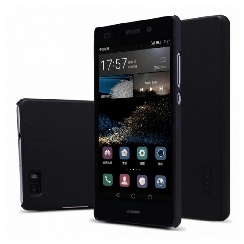 Чохол-накладка Nillkin для Huawei Ascend P8 Lite Matte ser.+ плівка Чорний