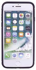 "Чехол накладка TPU для iPhone 7 (4.7 "") KMC Черный (342154), фото 3"