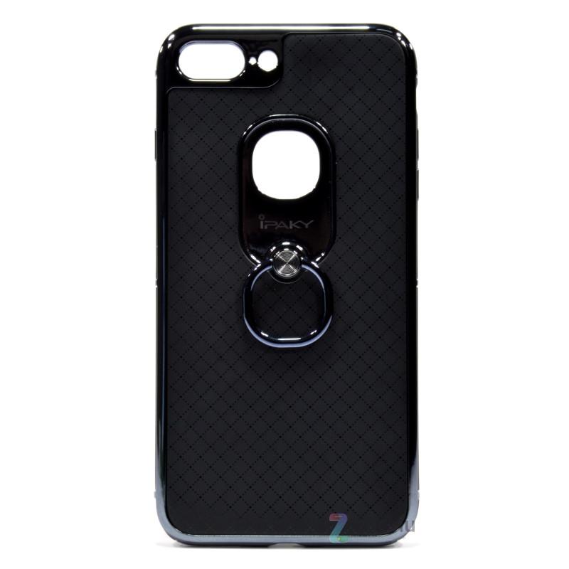 "Чохол-накладка iPaky для iPhone 7 Plus (5.5"") Ring ser. Чорний"