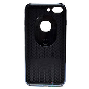 "Чохол-накладка iPaky для iPhone 7 Plus (5.5"") Ring ser. Чорний, фото 2"