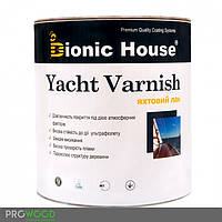 Лак яхтный для дерева, однокомпонентный алкид-уретановый (Bionic House Yacht Varnish) 10 л