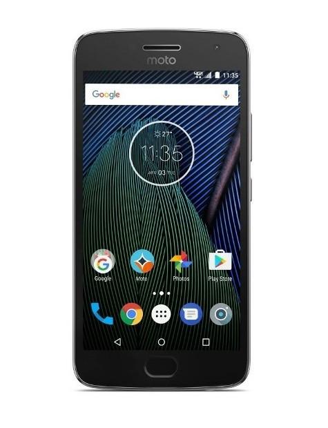 Смартфон MOTOROLA Moto G5 (XT1676) Dual Sim (Сірий)