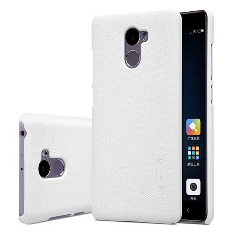 Чохол-накладка Nillkin для Xiaomi Redmi 4 Matte ser. +плівка Білий