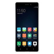 Чохол-накладка Nillkin для Xiaomi Redmi 4 Matte ser. +плівка Білий, фото 3