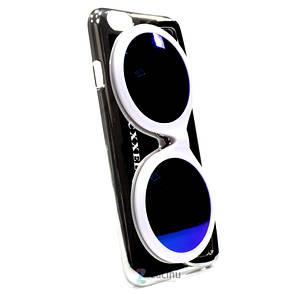 Чехол накладка Cxxel для iPhone 6 / 6S Sunglasses Case ser. серебристый, фото 2