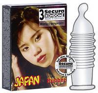Презервативы SECURA ЯПОНИЯ 3 шт