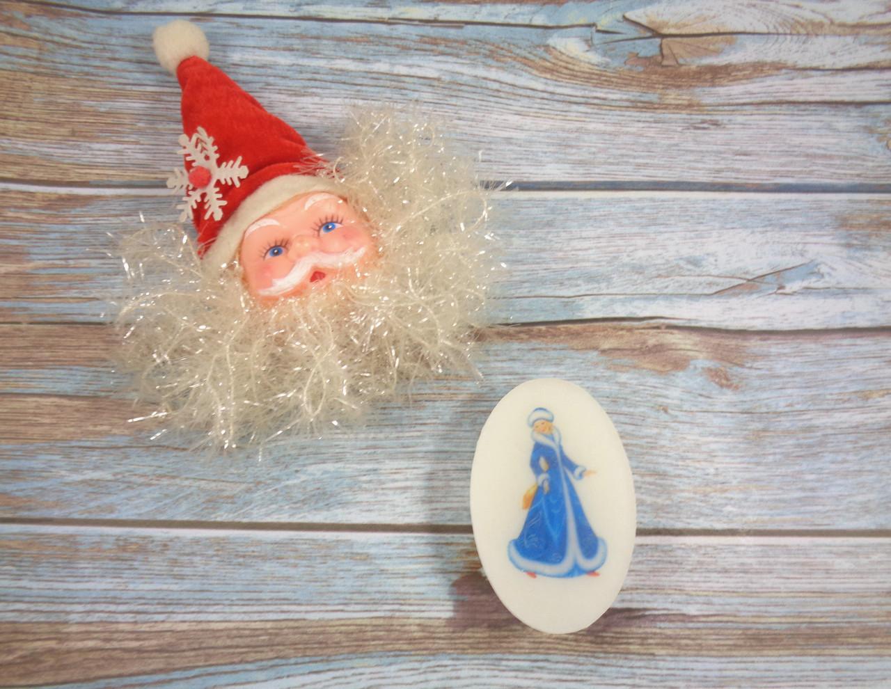 Мыло с картинкой «Снегурочка» №1
