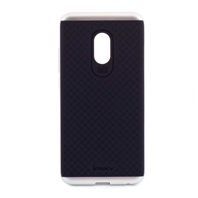 Чохол-накладка iPaky для Meizu Pro 6 TPU+PC Чорний/сріблястий(300062)