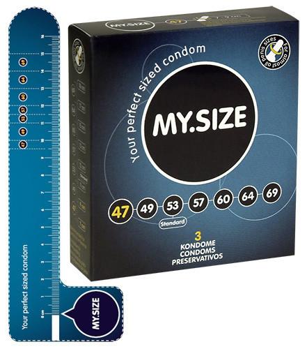 Презервативи Мой размер  (47 мм) 3 шт