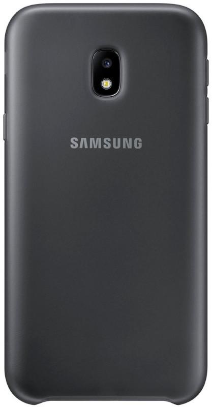 Чохол-накладка Samsung EF-PJ330CBEGRU для Samsung J330 J3(2017) Dual Layer ser. Black