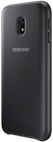 Чохол-накладка Samsung EF-PJ330CBEGRU для Samsung J330 J3(2017) Dual Layer ser. Black, фото 2