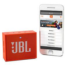 Портативна акустика JBL GO Orange, фото 3