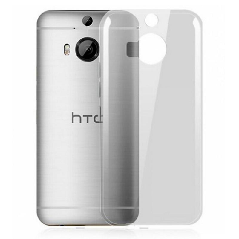 Чохол-накладка TPU для HTC One/ M9 Plus Ultra-thin ser. Прозорий/безколірний