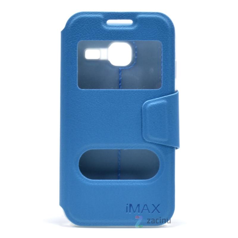 Чехол книжка iMAX для Samsung J105H J1 Mini / J1 Nxt Smart Case ser./ Голубой