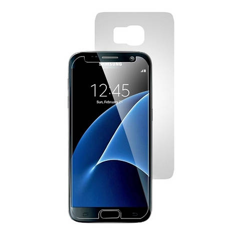 Плівка захисна BestSuit для Samsung G930F S7 (на дві сторони) Прозорий, фото 2