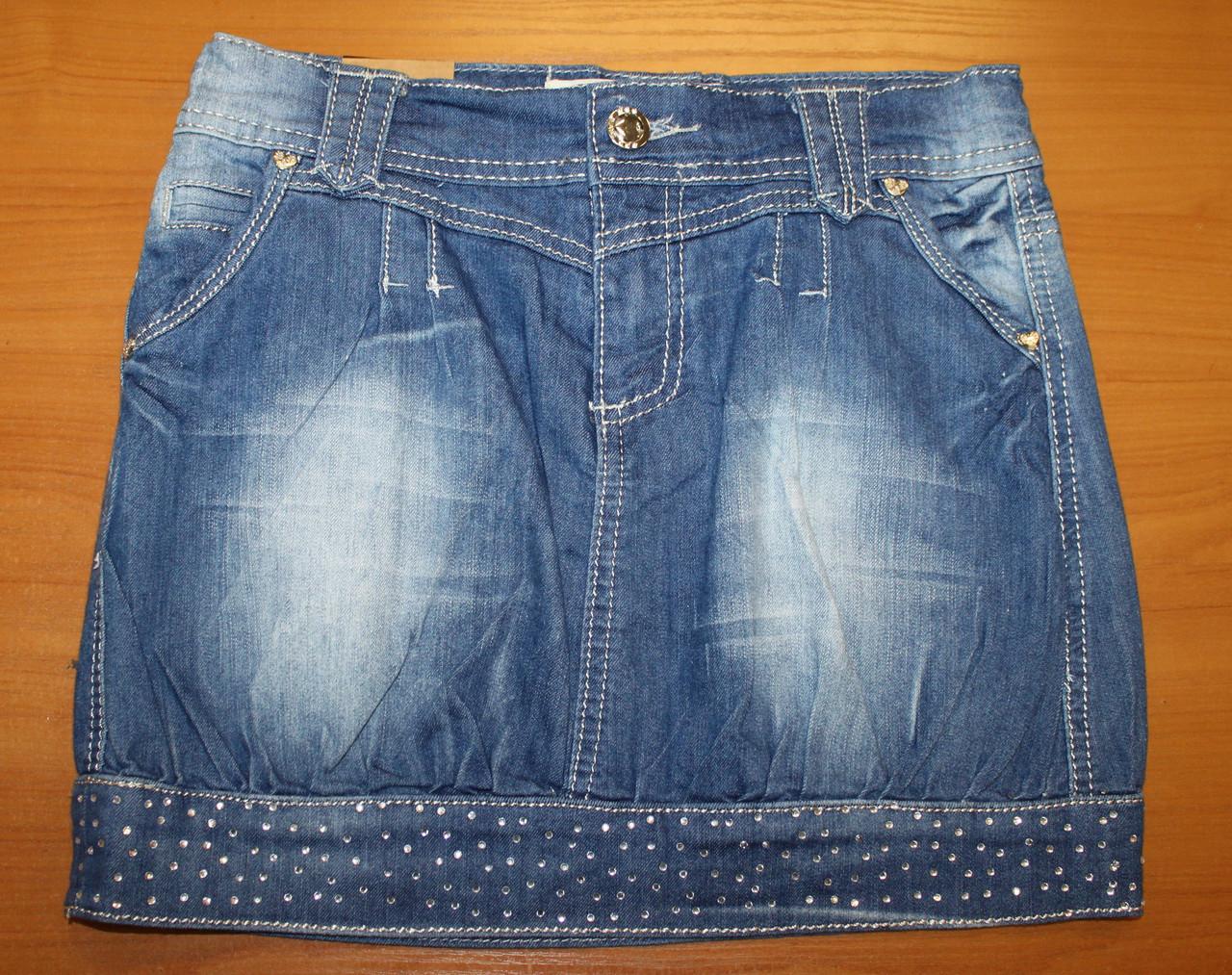 Юбка джинсовая для девочки.
