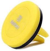 Автотримач магнітний для телефона Remax RM-C10 Жовтий