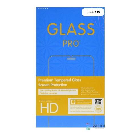 Захисне Скло Ultra Tempered Glass для Microsoft(Nokia) Lumia 535 0.33mm Прозоре, фото 2