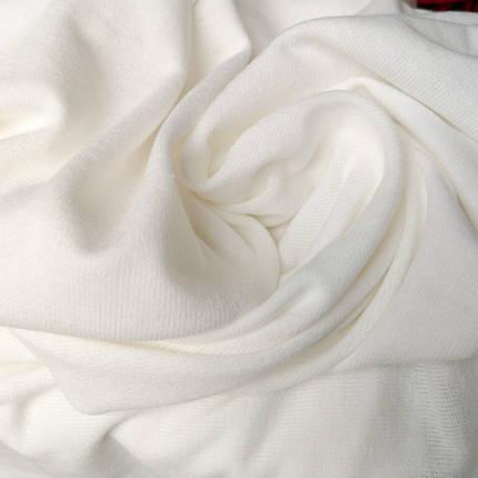 Трикотаж ангора молочный, фото 2